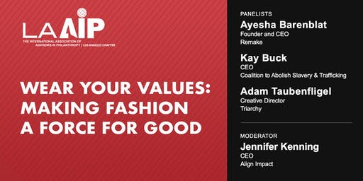 Wear Your Values: Making Fashion a Force for Good