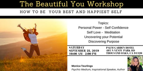 The Beautiful You Workshop - How to be your best and happiest self tickets