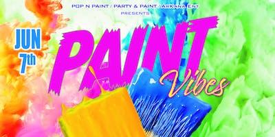 PAINT VIBES - Sip & Paint