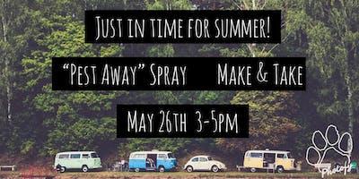 Pest-Away Spray Make & Take