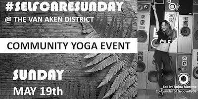#SelfCareSunday - Community Yoga Event