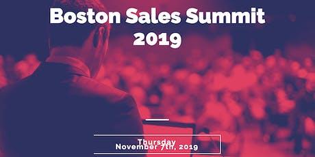 Boston Sales Summit 2019 tickets