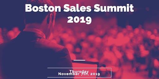 Boston Sales Summit 2019