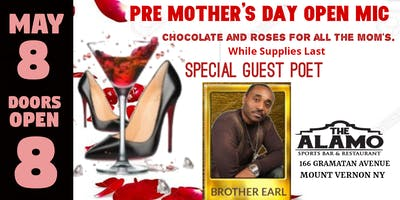 Pre Mother's Day Open Mic