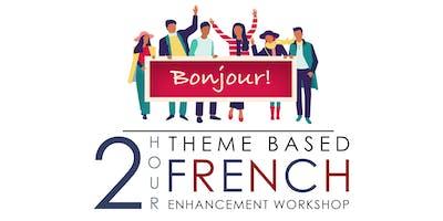 Family French conversation gathering (Friday night FUN)!