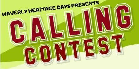Waverly Heritage Days Duck Calling Contest tickets