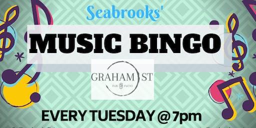 SEABROOKS' MUSIC BINGO! BEER, BASEBALL,BABES & BINGO! AMAZING MUSIC & PRIZES!