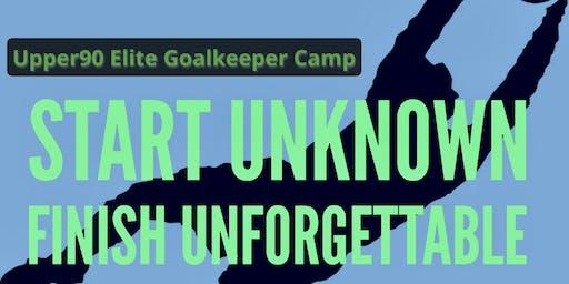 Upper90 Elite Goalkeeper Camp