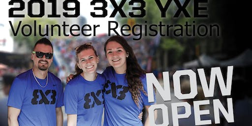 FIBA 3x3 World Tour Masters Saskatoon - Volunteer Registration