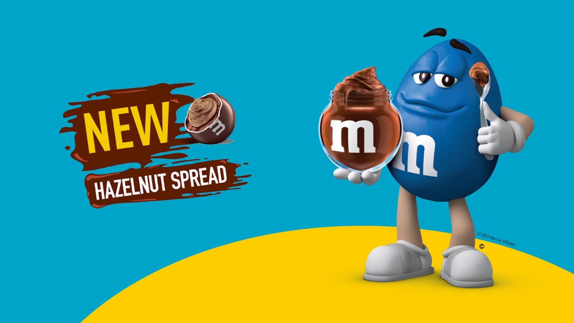 Get Nutty! Hazelnutty! With New M&M'S® Hazelnut Spread candies
