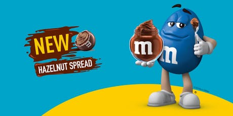 Get Nutty! Hazelnutty! With New M&M'S® Hazelnut Spread candies tickets