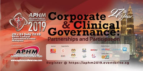 [FREE] APHM 2019 tickets