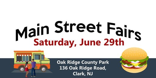 June 29th - Oak Ridge Park Food Truck and Music Festival