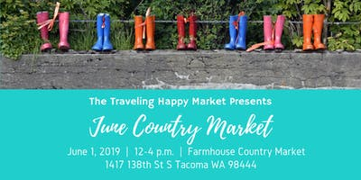 The Traveling Happy Market June Edition