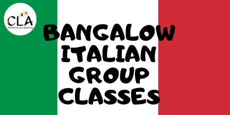 Italian Small Group Classes - Bangalow tickets