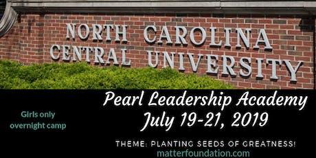 Pearl Leadership Academy tickets