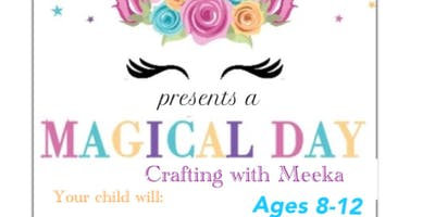 Magical Day,  crafting with Meeka