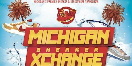MICHIGAN SNEAKER XCHANGE - JUNE 22ND, 2019 tickets
