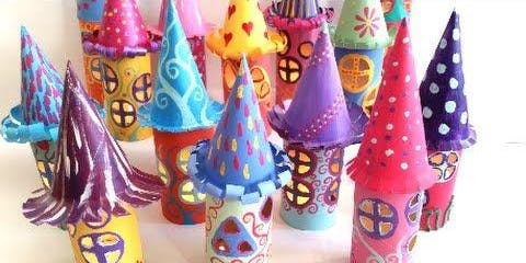 Make A Fairy House Lamp