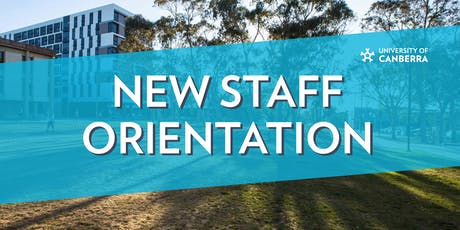 New Staff Orientation August 2019 tickets