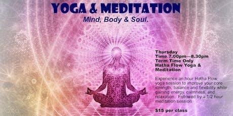 Yoga & Meditation - Term 2 2019 tickets