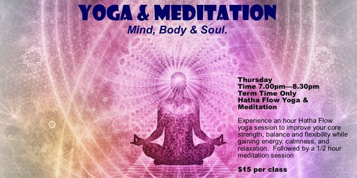 Yoga & Meditation - Term 2 2019