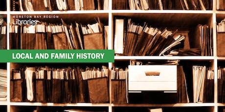 English Genealogy Online - Bribie Island Library tickets