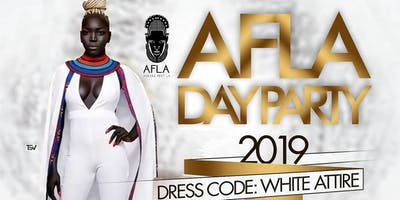 AFLA19 All WHITE DAY PARTY