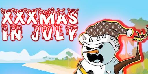 XXXMAS IN JULY: ALMIGHTY SUSPECT, RADIO BASE, RUCCI, 10CELLPHONES