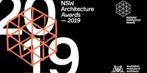 2019 NSW Architecture Awards Night
