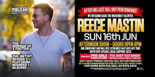 Reece Mastin LIVE at Publican, Mornington!