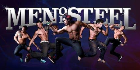 The Men of Steel: NZ's Ultimate Male Revue Show tickets