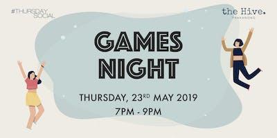 Thursday Social x Game Night