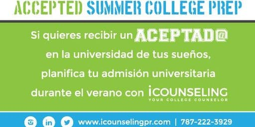 Accepted Summer College Prep