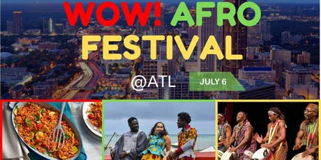 WOW! Afro Festival tickets