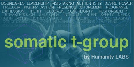Somatic T-Group - SF Bay Area tickets