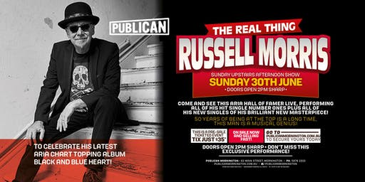 Russell Morris LIVE at Publican, Mornington!