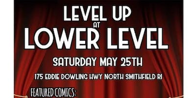 Level Up Comedy at Lower Level