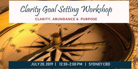 FREE Clarity Goal Setting Workshop  tickets