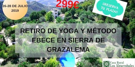Retiro De Yoga y Método EBECE En La Sierra De Grazalema entradas