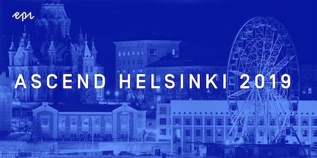 Ascend Helsinki 2019 tickets