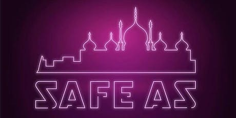 Safe As - disco fundraiser for Sussex homeless  tickets