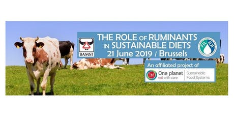 Symposium 'The Role of Ruminants in Sustainable Diets' billets