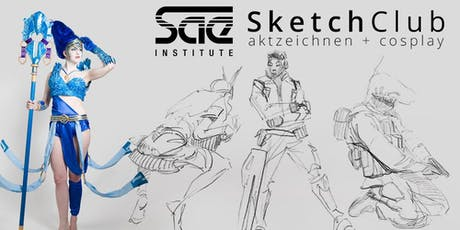 SAE SketchClub (Summer Sessions) - Game Art & 3D Animation Tickets