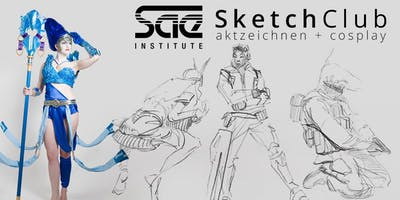 SAE+SketchClub+%28Summer+Sessions%29+-+Game+Art+%26