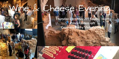 Wine & Cheese Evening - Priory Undercroft