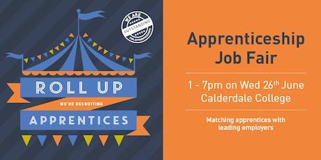 Apprenticeships Jobs Fair at Calderdale College tickets