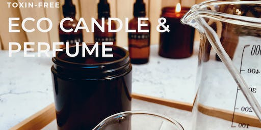 Aromatherapy soy candle & mini  perfume workshop