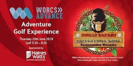 Adventure Golf Experience tickets