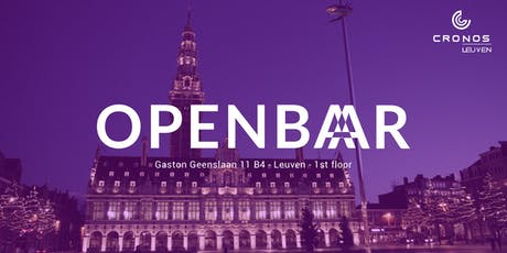 Openbar Leuven meetup 12 - Severless & Reactive Architecture tickets